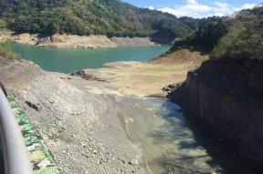 drying angat dam