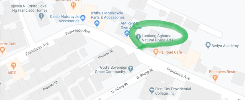 landas map
