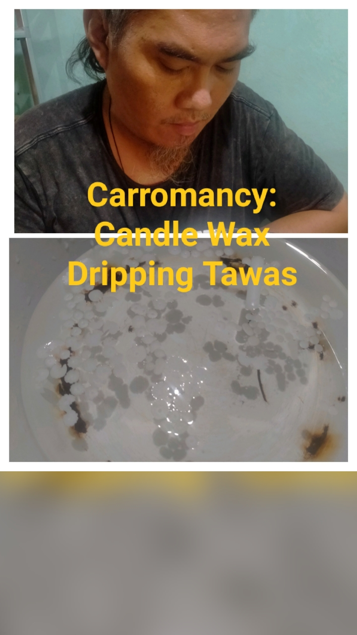Carromancy: Divination using melted candlewax
